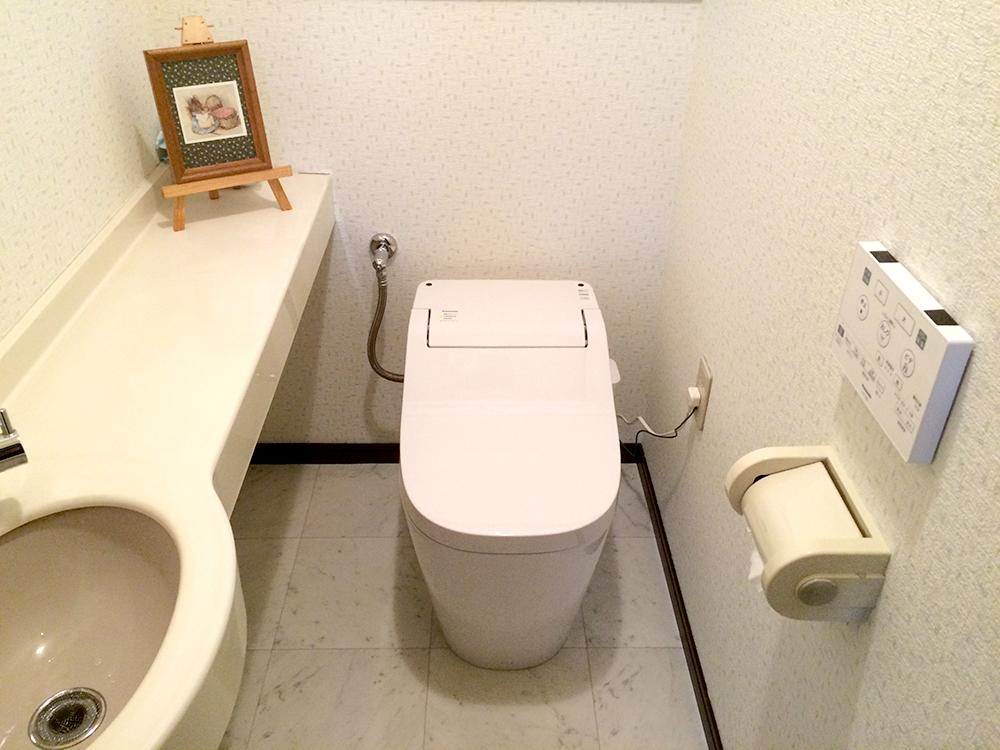 トイレ空間をオシャレに♪